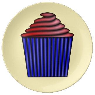 Cupcake door Kenneth Yoncich Porselein Bord