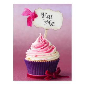 Cupcake - eet me briefkaart
