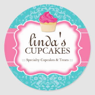 Cupcake en Dessert - Verpakkende Stickers