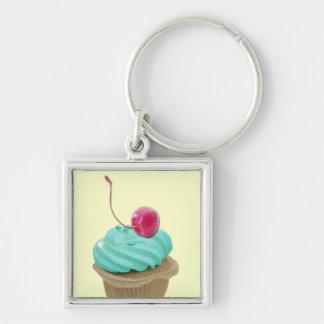 Cupcake en Kers Sleutelhangers