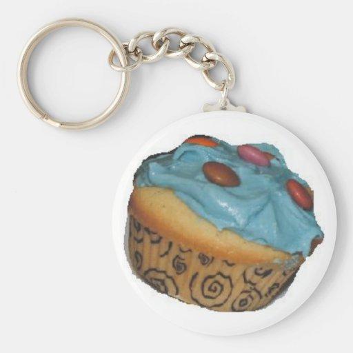 cupcake keychain sleutelhanger