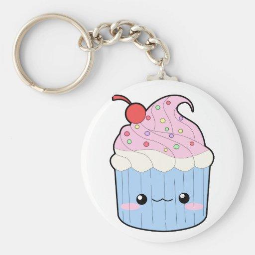 Cupcake Keychain Sleutel Hanger