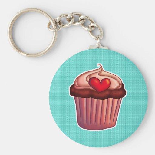Cupcake Sleutelhanger