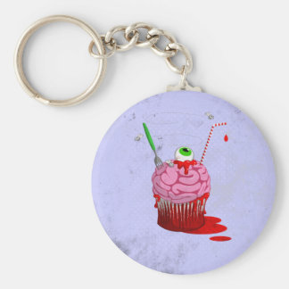 Cupcake van de Doden Sleutel Hanger