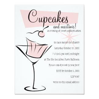 Cupcakes en Martini! Kaart