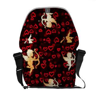 Cupido's en Harten Courier Bags