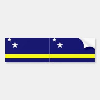 Curacao de sticker van de vlagbumper
