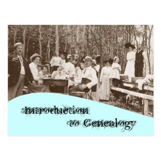 Cursus van de Genealogie van de Familie van het br Wens Kaarten