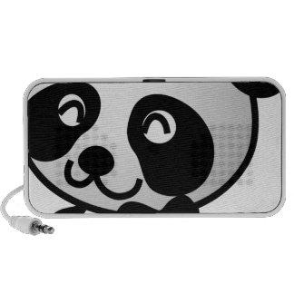 Cute little panda iPhone speakers