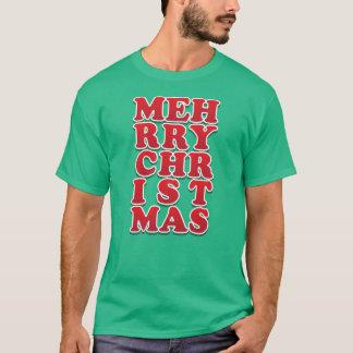 Cynische meh-rry-chr-IST-MAS T Shirt