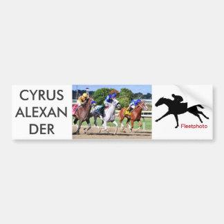 Cyrus Alexander, Mr.Jordan & Onderzoek Judicata Bumpersticker