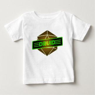 D20 de Druïde van de Ster Baby T Shirts