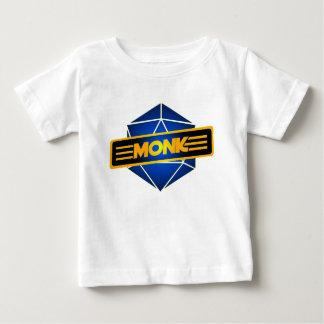 D20 de Monnik van de Ster Baby T Shirts