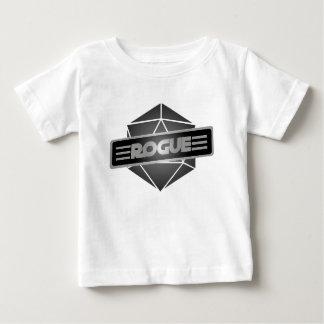 D20 de Schurk van de Ster Baby T Shirts