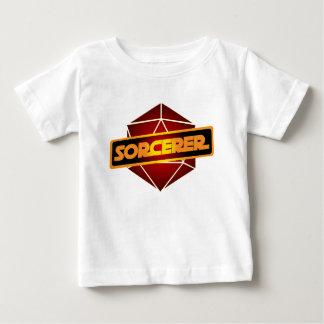 D20 de Tovenaar van de Ster Baby T Shirts