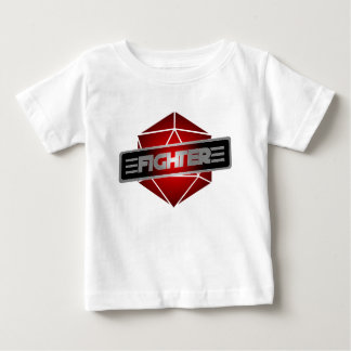D20 de Vechter van de Ster Baby T Shirts