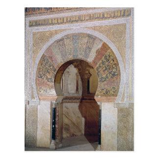 d4: Mezquita: Ingang aan Mihrab, c.786 Briefkaart