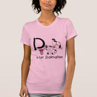 D is voor T-shirts Dalmation en Giften