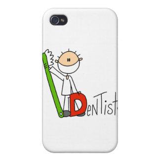 D is voor Tandarts iPhone 4 Case