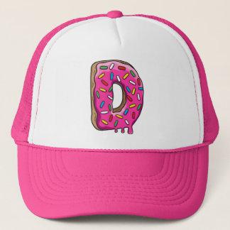 D voor Doughnut Trucker Pet