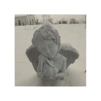 Daar, daar, babykonijntje… Het Art. van de engel Hout Prints