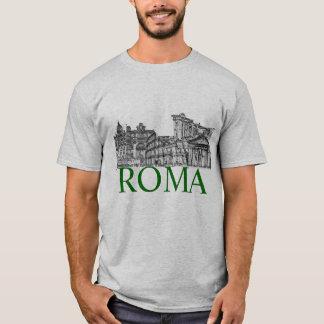 daar de reissouvenir/DIY- tekst van Rome! T Shirt