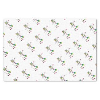 Dab eenhoorn 25,4 x 38,1 cm tissue papier