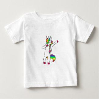 Dab eenhoorn baby t shirts