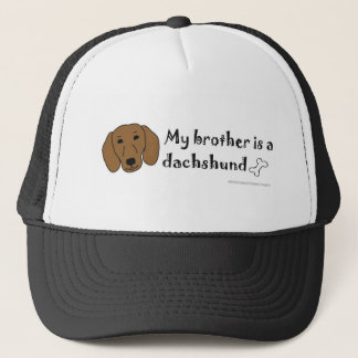 DachshundTanBrother Trucker Pet