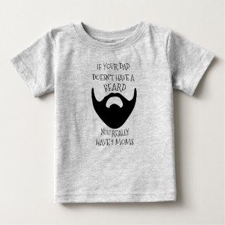 DAD BAARD BABY T SHIRTS