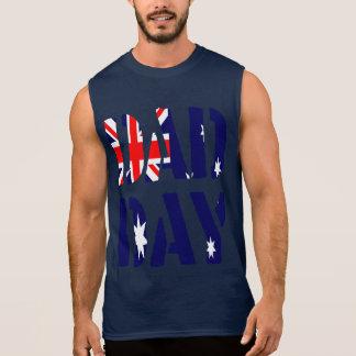 DAD het Gelukkige Vaderdag van Australië van de T Shirt