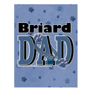 DAD van Briard Briefkaart