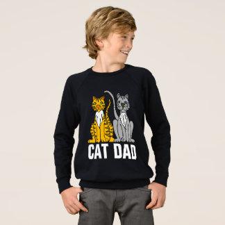 DAD van de KAT zwarte t-shirts