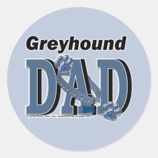 DAD van de windhond Ronde Sticker
