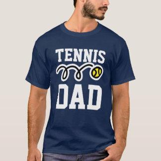 DAD van het tennis T-shirt voor papa -