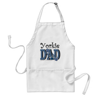 DAD van Yorkie Standaard Schort