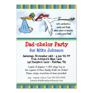 Dadchelor - de Leuke Nieuwe Uitnodigingen van de