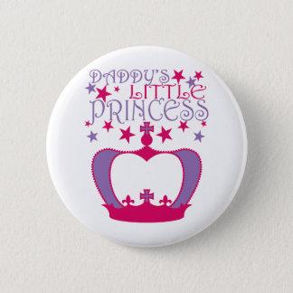 Daddys Weinig Prinses Ronde Button 5,7 Cm