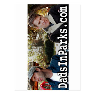 Dads in Parken - Jamie & Jeff Briefkaart