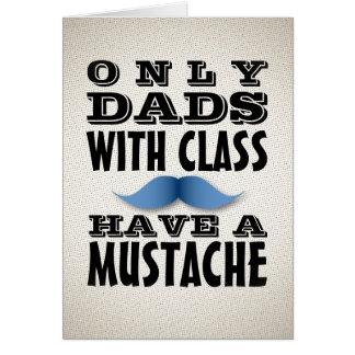 Dads met Klasse heeft een Grappige Kaart van de