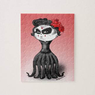 Dag van de Dode Octopus Puzzel