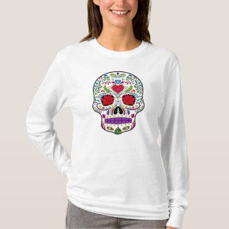 Dag van de Dode Suiker Skull Dia DE los Muertos T Shirt