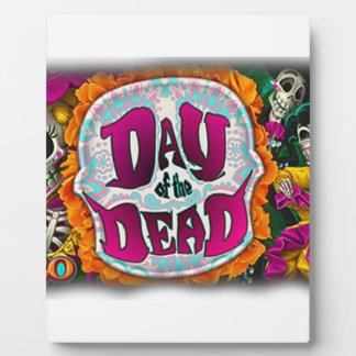 Dag van de Doden Fotoplaat