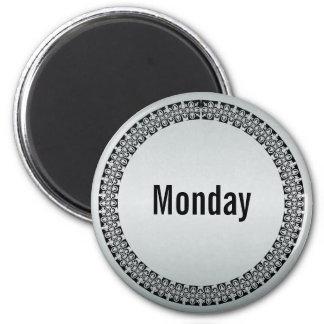 Dag van de Maandag van de Week Magneet
