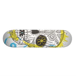Dag van het Dode Ontwerp van het Tattoo van de Skateboard