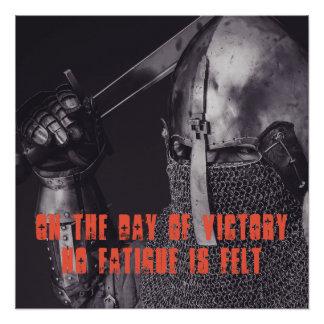 Dag van het Poster van de Overwinning Perfect Poster