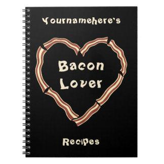 Dagboek van het het hart het lege recept van het b ringband notitieboek