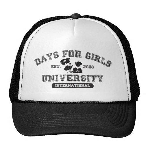 Dagen voor de Universiteit van Meisjes Pet
