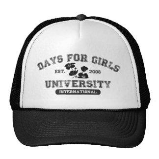 Dagen voor de Universiteit van Meisjes Pet Met Netje