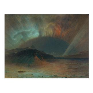 Dageraad Borealis door Frederic Edwin Church 1865 Briefkaart